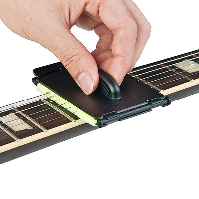 New Portable Quick Guitar Scrubber cleaner Bass string Fingerboard cleaning tool