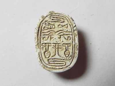 Zurqieh -Af831- Ancient Egypt ,2Nd Intermediate Stone Scarab. 1782 - 1570 B.c