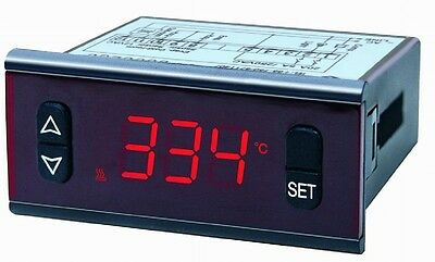 Digital temperature controller PT100 input relay output on/off control