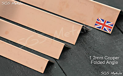 1.2mm Thick Copper Folded Angle Corner Protector
