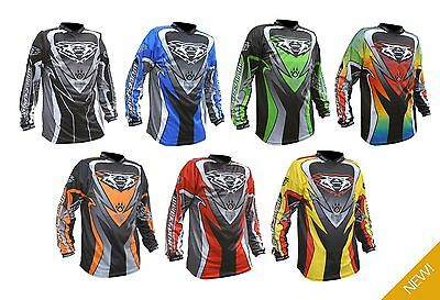 Wulfsport Adults Attack MX Motocross Enduro MTB Off Road ATV Top Shirt Jersey