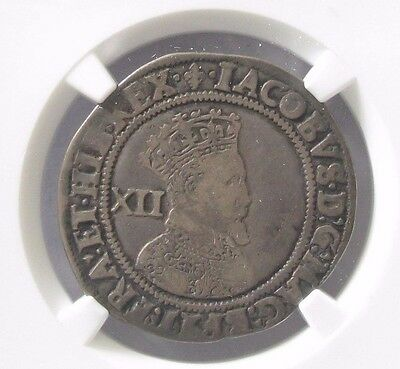1603-04 Great Britain England 1 Shilling; NGC VF30  James S-2645