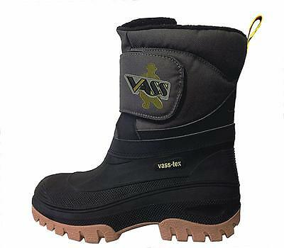 VASS Rainwear NEW Fishing Fleece Lined Boots with Strap Mens Footwear - VS150-50