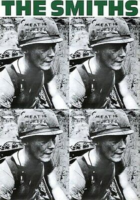 THE SMITHS ~ MEAT IS MURDER 4 PICS ~ 24x36 MUSIC POSTER ~ NEW/ROLLED! Morrissey
