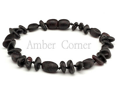 Genuine Baltic Amber Raw Knotted Bracelet Adult Unisex approx 19cm Mix Beads New