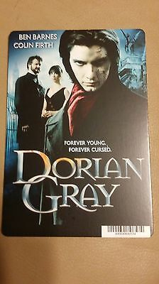 "Movie Backer Card ( Dorian Gray ) Mini ""poster"" -This Is Not A Dvd"