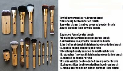 makeup brushes 15 styles cosmetics brush kabuki make up brush