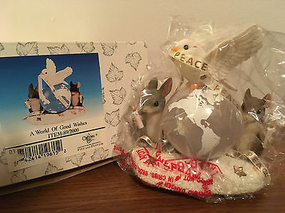Charming Tails A World of Good Wishes Figurine 89/2000 NIB