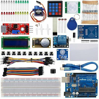 US Ultimate RFID Master Starter Kit With UNO R3 Board for Arduino RC522 Module