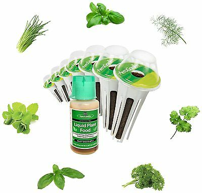 Miracle-Gro AeroGarden Gourmet Herb Seed Pod Kit(7-Pods) by AeroGrow,For use CXX
