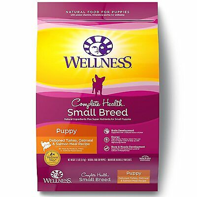 Wellness Complete Health Natural Dry Small Breed Dog Food (89117) [12-Pound Bag]