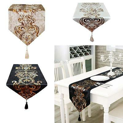 Classic European Table Runner Modern Tea Table Flag Home Wedding Party Supplies