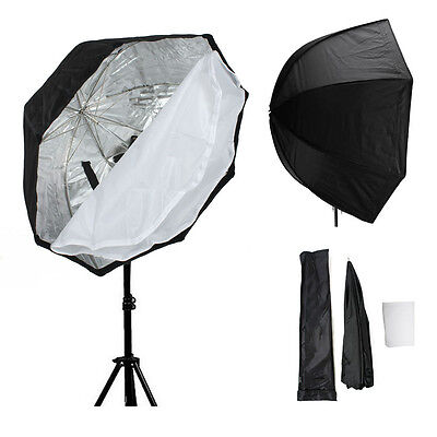 80cm Octagon Speedlite Softbox Umbrella Reflector Diffuser For Speedlight Camera