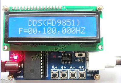 NEW AD9851 DDS Function Signal Generator 0 - 50MHz DDS Source SCM + DDS Module