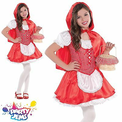 Little Red Riding Hood Girls Fancy Dress Costume Outfit 4-6 yrs