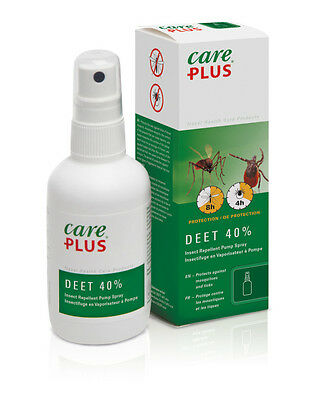 Care Plus 32983 40% Deet Anti Insect & Mosquito Repellent Spray 60Ml