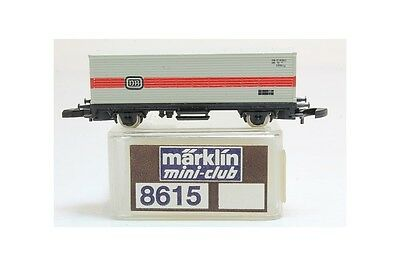 Z 1:220 Märklin 8615 container car DB L13537 vagon contenedor escala mini club s