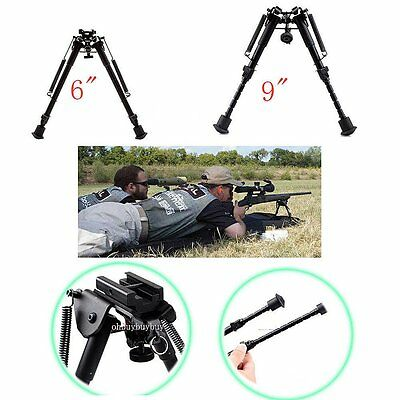 """6""""-9"""" Rifle Bipod Fore Grip Shooter Mount TACTICAL Eject Rail Ridge Rock"""