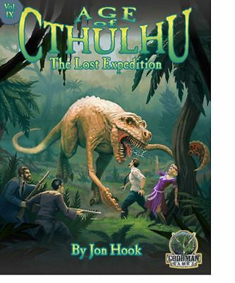 Age of Cthulhu RPG - The Lost Expedition