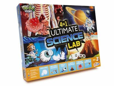 4 In 1 Ultimate Science Kit Kids Chemistry Biology Physics Experiment Set 0014