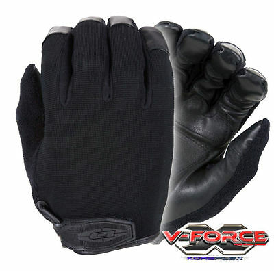 New Damascus X4 V-Force Puncture Cut Proof Kevlar Police Search Duty Gloves X-Lg