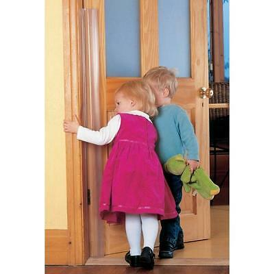 Clippasafe Door Finger Baby Guard Protection Strip Toddler Kid Alert Hinge 120cm