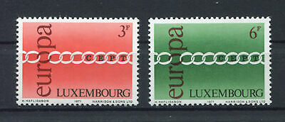 s10473)  LUXEMBOURG 1971  MNH** EUROPA 2v