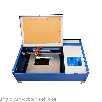 Desktop 40W 300mm x 200mm CO2 Laser Engraving Cutting Machine with Up and Down
