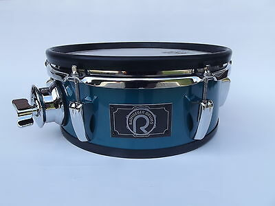 "R-DRUMS - 10"" E-Drum Meshhead Pad (ocean blue) Kompatibel zu Roland, 2box, ddrum"