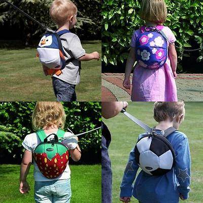 Clippasafe Backpack Harness Rein Lead Toddler Child Safety