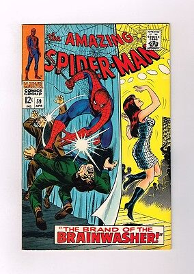 AMAZING SPIDER-MAN (V1) #59 Grade 9.0 Silver Age find! 1st MJ cover appearance!