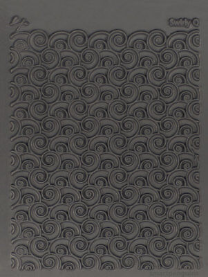 Lisa Pavelka Texture Stamp Mold Sheet Surface Imprinting Swirly Q 527101