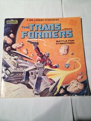 """transformers 1984 marvel books """" battle for cybertron"""""""