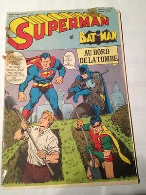 superman et batman # 43, 1971 edition interpresse