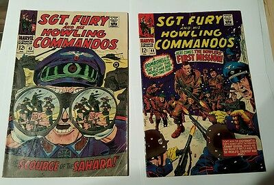 Sgt. Fury and his howling commandos #43,44