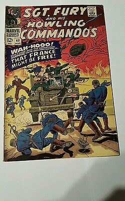 Sgt. Fury and his howling commandos #40