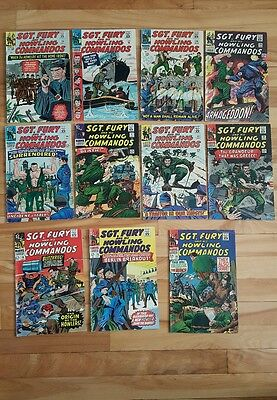 Sgt.fury and the howling commandos # 24,26,28-35,46