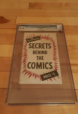 Secrets behind the comics ( reprint ) cgc 9.6