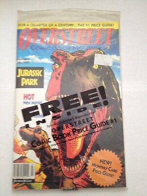 overstreet comic book monthly # 3 , 1993