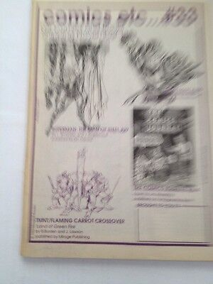 comics etc....# 33,1993 merchandise catalogue