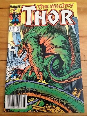 thor # 341 ( canadian price edition )