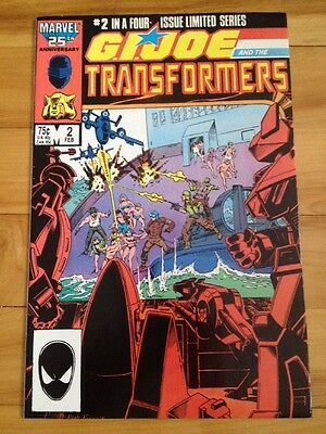 g.i. joe and the transformers # 2,1987  ( direct edition )