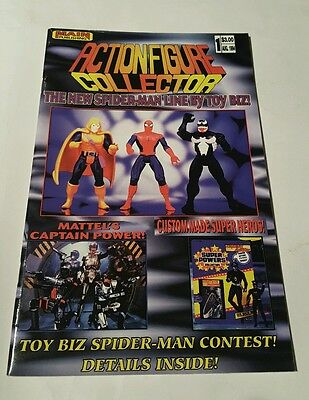 Action figure collector #1,1994 toy magazine