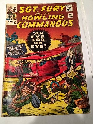 Sgt. Fury And His Howling Commandos # 19