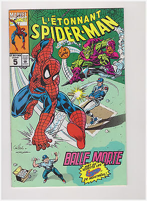 L'etonnant Spiderman # 5 ( Balle Morte ) French Canadian Glossy Page Variant