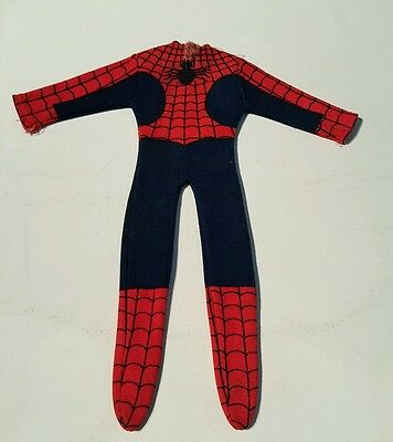 Spiderman 12 inch mego costume 1970's