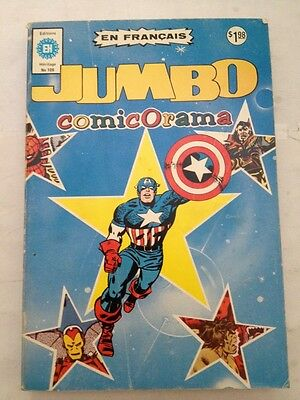 Jumbo Comicorama # 109 Edition Heritage