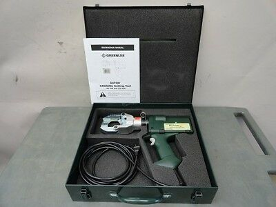 New Greenlee gator plus CSG50GL corded hydraulic cable wire cutter cutting tool