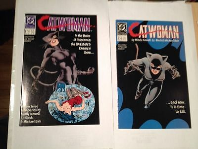 Catwoman # 1,3 Of 4 Mini Series