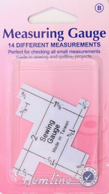 Hemline Measuring Gauge, 14 Different Measurements In One Unit.